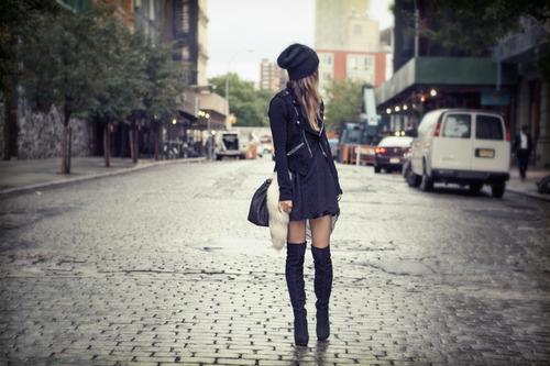 black-fashion-girl-lonely-street-Favim.com-87147