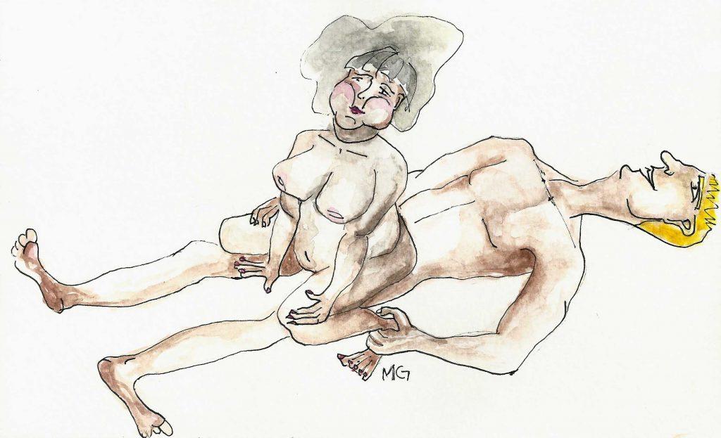 posição 2 - ilustrada por Maria Gabriela Rodrigues